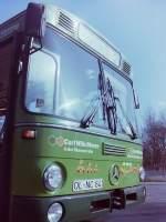 OVB Pekol/146356/wagen-161-von-einigen-mitmenschen-wurde Wagen 161. Von einigen Mitmenschen wurde der Bus etwas abfällig der 'Gummi-Entchen-Laster' genannt. Der Grund dafür ist auf dieser Aufnahme vom 21.02.83 gut zu erkennen.